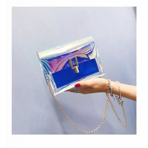 Designer Luxury Handbags Purses Laser Bag Female Small Square Bag Fashion 2020 Summer Small Bag Shoulder New Messenger Ins Super Fire Ch