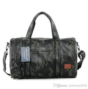 Factory Outlet Marke Herren Tasche Camo Hochleistungs-Tragetasche Freizeit Reisetasche koreanische Mode Tarnung Lederhandtasche