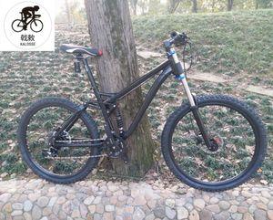 Kalosse M4000 Yumuşak kuyruk çerçeve XC / AM bicicleta dağ bisikleti kadın 26er bisiklet Hidrolik fren alaşım 27speed