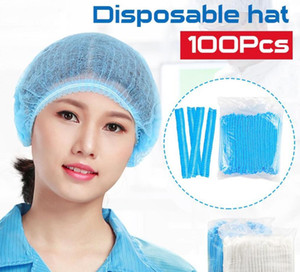 Tek Hat Anti Toz Olmayan Dokuma Merkez Kapağı Saç Koruyucu Tek Duş Caps Salon Güzellik Aksesuarları FY4024