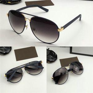 케이스 도매 패션 디자이너 선글라스 2887 가죽 타원형 프레임 고전 retor 스타일의 자외선 (400) 야외 보호 안경 최고 품질