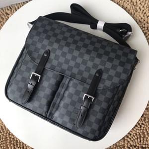 New Formal Beiläufiges Büro Herren Taschen Handtasche Schwarz Aktenkoffer-Laptop-Umhängetasche Messenger Bag männlich Herren Taschen Business-Aktentasche