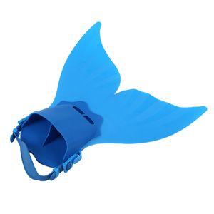 Giocattolo sveglio del nuoto bambini Nuoto Fin Diving Piedini Flippers Acqua Allenamento SwimwearBlue