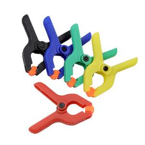5 2 인치 DIY 공구 플라스틱 나일론 토글 클램프를 위한 전기공 Spring Clip 사진 스튜디오 클램프 가정용 도구