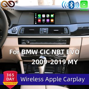 Sinairyu Drahtlose Carplay Box für 1 2 3 4 5 6 7 Series X1 / X3 / X4 / X5 / X6 / Z4 / I3 / I8 / M3 / M4 / M5 / M6 CIC NBT Airplay Mirroring Auto-DVD