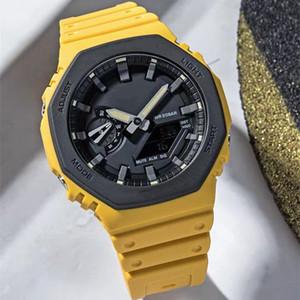 New Royal Oak Sport Shock Часы Military LED ударопрочный Digital Открытый Спорт наручные часы Часы высокого качества оптовой продажи Shock Часы