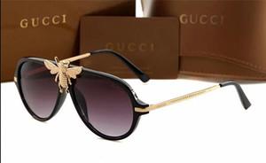 Kadınların En Kaliteli gözlük UV Koruma Lens 0061S için lüks Kadınlar Tasarımcı Güneş 0061 Moda StyleMixed Renk Retro Yuvarlak Çerçeve
