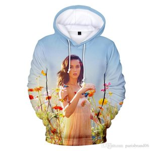Katy Perry Hommes Designer Hoodies Printemps Automne 3D Imprimé en vrac Sweats à capuche 4XL Pull Casual Mens Apparel