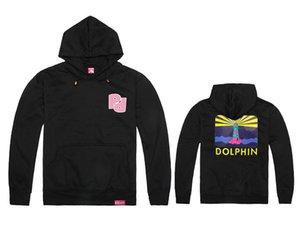 autunno inverno Pink Dolphin felpa con cappuccio spedizione gratuita brand new hip hop felpe in pile pullover vestiti usura uomo felpa con cappuccio