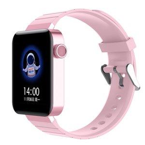 Le plus récent montre Smart Watch Wristband J8 Moniteur de fréquence cardiaque étanche IP67 Fitness Tracker Regarder sommeil Moniteur montre de sport pour IOS Android