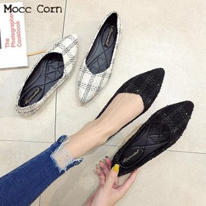 Fashion Women flats Shoes Breathable Ladies Slip On Loafers Large Size Summer Casual Canvas Espadrilles Female Footwear 2019 New