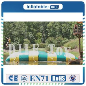 Venta caliente 7 m * 3 m 0.9 mm PVC Inflable Blob Catapult de agua Bouncing Almohada Salto Almohada Bolsa de agua para adultos