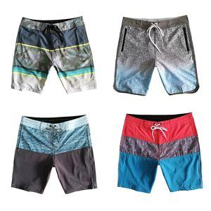 Traje de baño de los hombres shorts de playa impermeable de secado rápido Swim bermudas de surf Bañadores verano sueltan los pantalones cortos ocasionales de 16 colores
