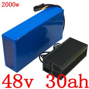 1000W 1500W 2000W 48V de iões de lítio pacote 48V 48V 30AH bateria de lítio bateria Ebike scooter elétrico com BMS e 50A carregador