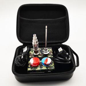 Ego Electric Box Dab E prego Box Kit 10 milímetros 16 milímetros 20 milímetros bobina E-prego Kits Enail caixa de controle colorido 6 em 1 Titanium Nails