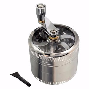 2 Size Aluminum Herbal Herb Tobacco Grinder 4-layer Smoke Grinders grinder herb grinder Cigarette Accessoriesr
