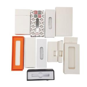 Custom Packaging For Vape Cartridges Design Customized Paper Gift OEM Box Blister Package Custom Logo Childproof Bag Pre-Roll Stickers