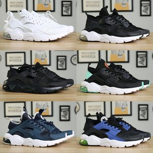 New Huarache 1.0 4.0 Men Kids Running Shoes Stripe Red Balck White Rose Gold Women Shoes Sport Sneakers