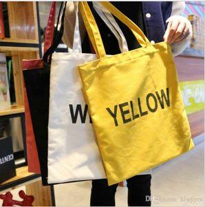 saco de lona de moda cor pura de queijo armadilha ombro messengerbag de estudantes do sexo feminino portáteis sacos de compras reutilizáveis