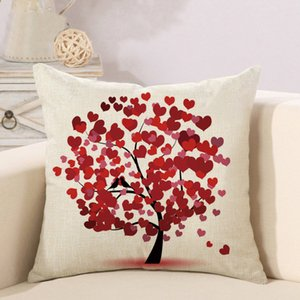 Life Tree Creative Fashion Pillow Cover Sofa Chair Pillow Cover Home Decoration Hot Selling Money Does Not Include Pillow Core