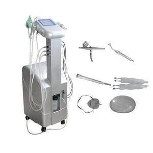 6 em 1 Pure Oxygen Jet Peel Machine Hydra Facial Oxigênio Injectar Oxigênio Máscara Facial Bio Pele Aperte a máquina de terapia de vácuo