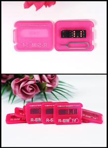 Popular RSIM 14+ R sim14 + RSIM14 + R SIM 14+ RSIM 14+ desbloqueio do cartão iphone 11 pro Max IOS13 ICCID desbloqueio sim RSIM14 +