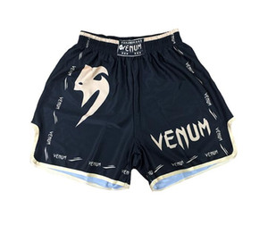 New Fashion Quality goods-MMA UFC SANTA MUERTE 2.0 PANTALONCINI DI COMBATTIMENTO -Muay Thai / Boxe Sport Pantaloni mimetici Beach Pantaloncini Pantaloncini da bagno