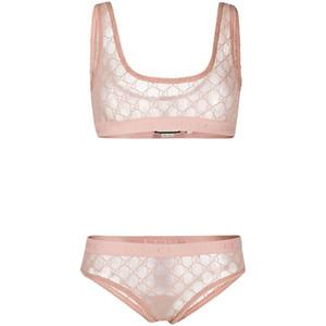 Suit Lüks G Harf Mesh Bikini Moda Yeni Kız Mayolar Tide Womens Sport Mayo Yüksek Kalite Parçası Yüzme Giyer