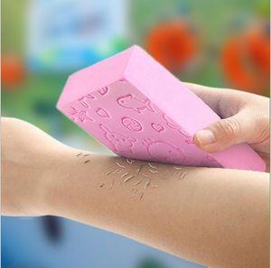 Adulto Kid macia Esfoliante Corporal Banho pele Shower Spa escova de lavagem de esponja esfregão esponjas Acessório de Limpeza Banho
