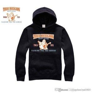 남성 의류 옴므 후드 스웨터 남성 여성 후드 진정한 RELIGIONING 후드 스웨터 겨울 스웨터를 인쇄