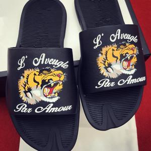 2019 nouveaux pantoufles Dsigner pantoufles sandales causales non-slip été huaraches pantoufles tongs pantoufles expédition libre