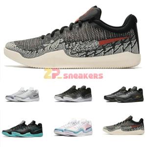 Mamba Wut PROMOTION SUMMER FARBEN 2020 neue Männer Weiß Basketball-Schuhe speichern mit Kasten Großhandelspreise US7-US12