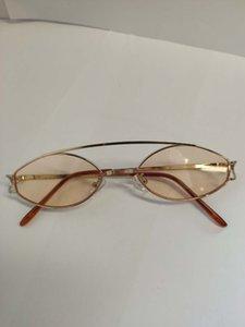 Fábrica de metal direta óculos de sol quadrado luminoso moldura de ouro pé PC luz rosa claro transparente pé-de-rosa set baratos prescrição óculos de sol