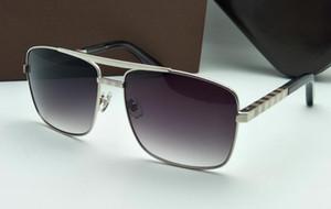 2019 Yeni moda klasik güneş gözlüğü tutum güneş gözlüğü altın çerçeve kare metal çerçeve vintage stil açık tasarım klasik model 0256