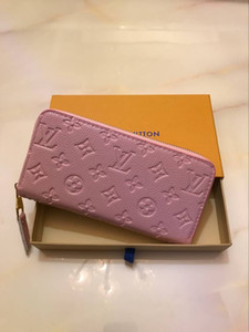 BJJ5 Nuova vendita donne borsa retrò WONEN portafoglio lungo scavato Portafoglio in pelle Womens Wallet