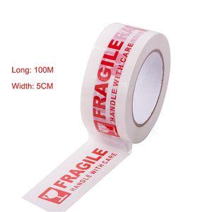 (50mm*100meter)FRAGILE PACKING TAPE B00703