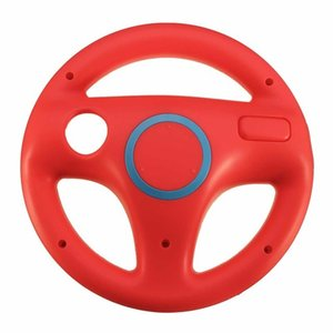 High Quality Game Racing Steering Wheel for Super Mario Nintendo Wii WiiU Kart Remote Shock Controller Accessories 6 Colors