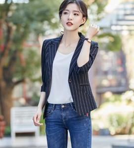 A mola mulher e no Outono bens de alta qualidade versão han nova maré fundo fino de algodão corpo e cânhamo manga longa casaco pequeno naipe / S-3XL