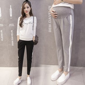 2020 Autumn Spring Maternity Sport Pants Elastic Waist Belly Casual Trousers Clothes for Pregnant Women Pregnancy Pants
