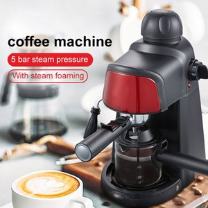 Espresso Electric Coffee Machine Express Electric Foam Coffee Maker Electric Milk Frother Kitchen Appliances 220V Portable Coffee Maker