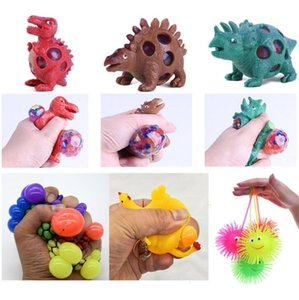 Dinossauro vent bola bola uva espremer galinhas amassar Le novidade criativa descompressão aperto descompressão brinquedos