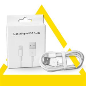 100 шт Розничной Моды бумага Упаковка для 0.5-2M USB кабеля Упаковки коробки для 1M Телефона зарядного кабеля данных с отверстием подвесить