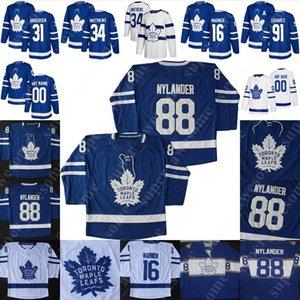 Toronto Maple Leafs Jersey Kenny Agostino Nick Shore Ilya Mikheyev Jason Spezza Frederik Gauthier Michael Hutchinson Tyler Gaudet Rich-Clune