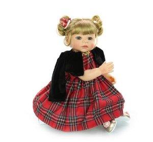 KEIUMI nuevo estilo bebé Reborn Lebend-Puppe 55 cm de silicona cuerpo completo princesa niña muñeca para niño Regalo de Cumpleaños mejor