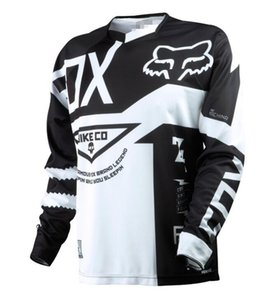 FOX custom spring and autumn speed surrender long-sleeved T-shirt summer off-road motorcycle racing suit jacket male moisture wicking and qu