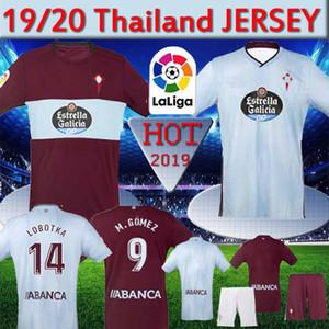 Tailândia RC Celta de Vigo Soccer Jersey BONGONDA Nolito 10 Iago Aspas Gomez Brais MENDEZ Football homens Camisa de RC Celta criança Camiseta De Fútbol
