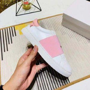 Classics man Women luxury Sneaker Fashion Smart Platform Trainers Luminous Fluorescent Shoe Snake Back Leather shoes slipper shoes011 GV05