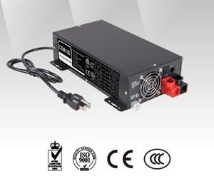 ENTRADA yiy AC CONVERTER / BATERÍA chatger AC / DC OUTPUT FAST / FLOAT CARGA TIPO 37.5A ~ 150Amp DISEÑO COMPACTO 12V 24V 48V 40 ~ 70Hz DISPLAY 3-LED