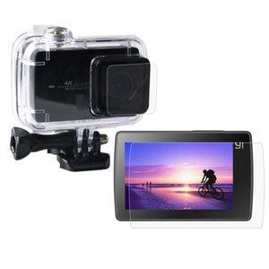Ultra Clear LCD Screen Protector + Housing Glass Lens Protector Film for Xiaomi Xiaoyi II 4K Camera