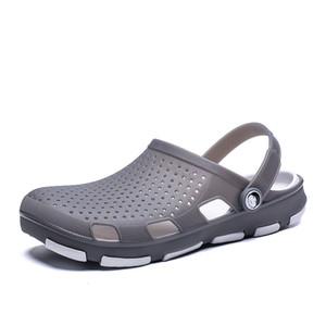 Large Size Sandals Summer Men Breathable Porous Shoes 2019 New Style BIRD'S NEST Slipper Sandals Slippers
